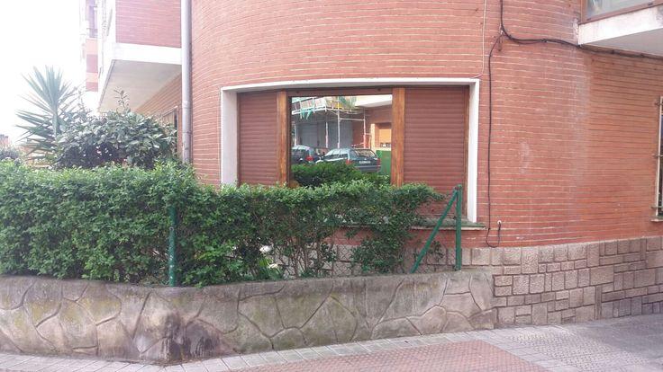 Cambio de ventana en una vivienda de Algorta (Getxo)
