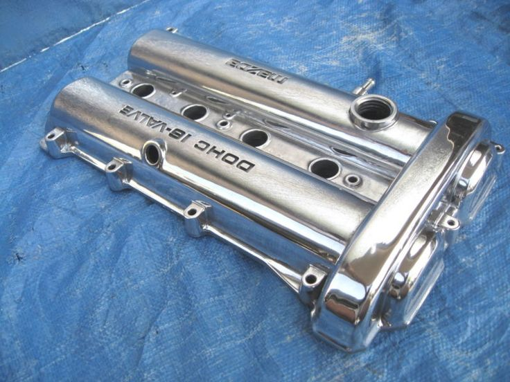 Polished miata valve cover