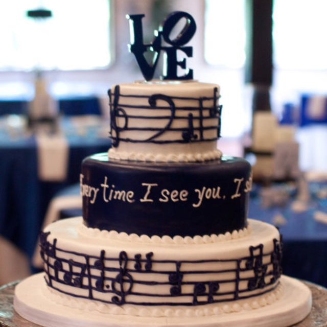 Music Lyric Cake I Want This As My Birthday But Demi Lovatos Skyscraper The Lyrics