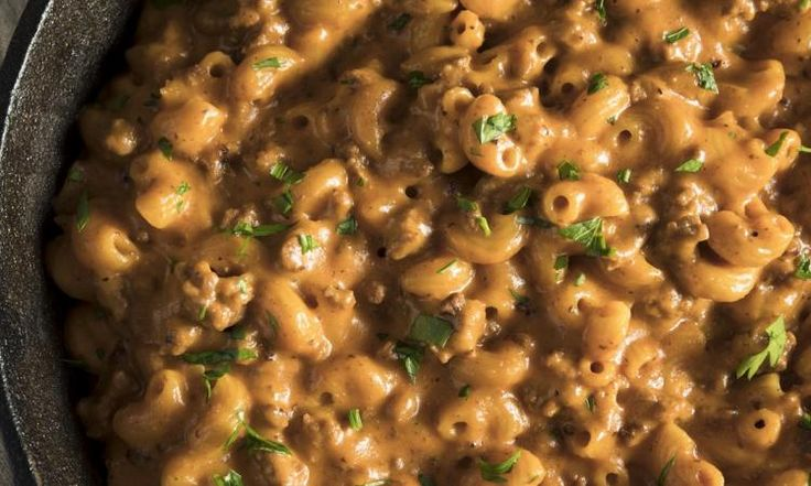 Hamburger HELPER fait maison