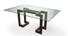 Mesa moderna / tablero de vidrio SENDAI GONZALO DE SALAS
