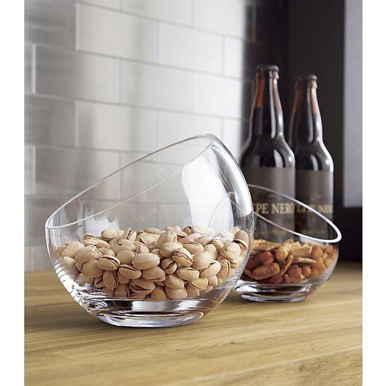 Tilt Bowls in Top Accessories   Crate and Barrel