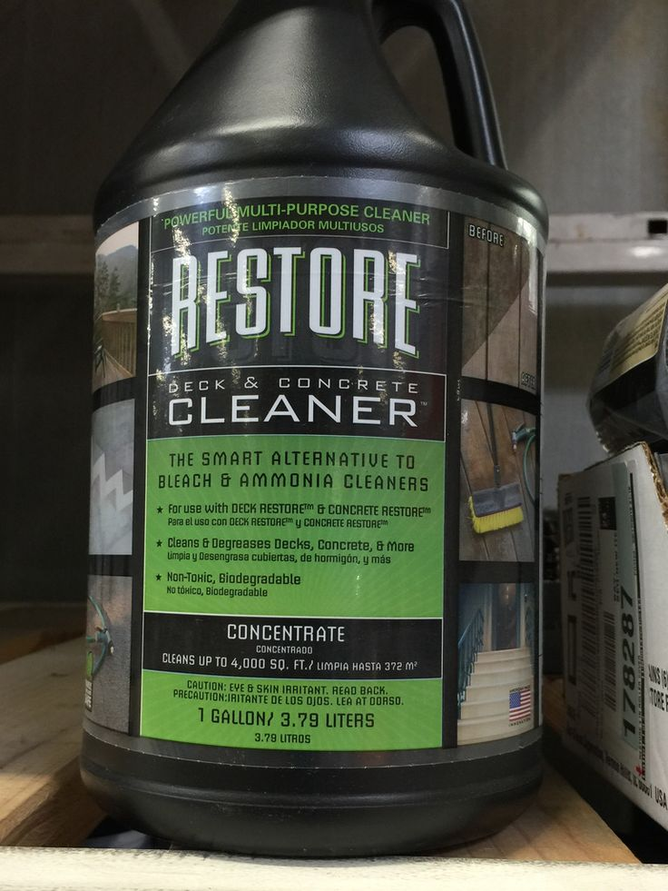 1000 ideas about deck restore on pinterest decks for Revive deck cleaner