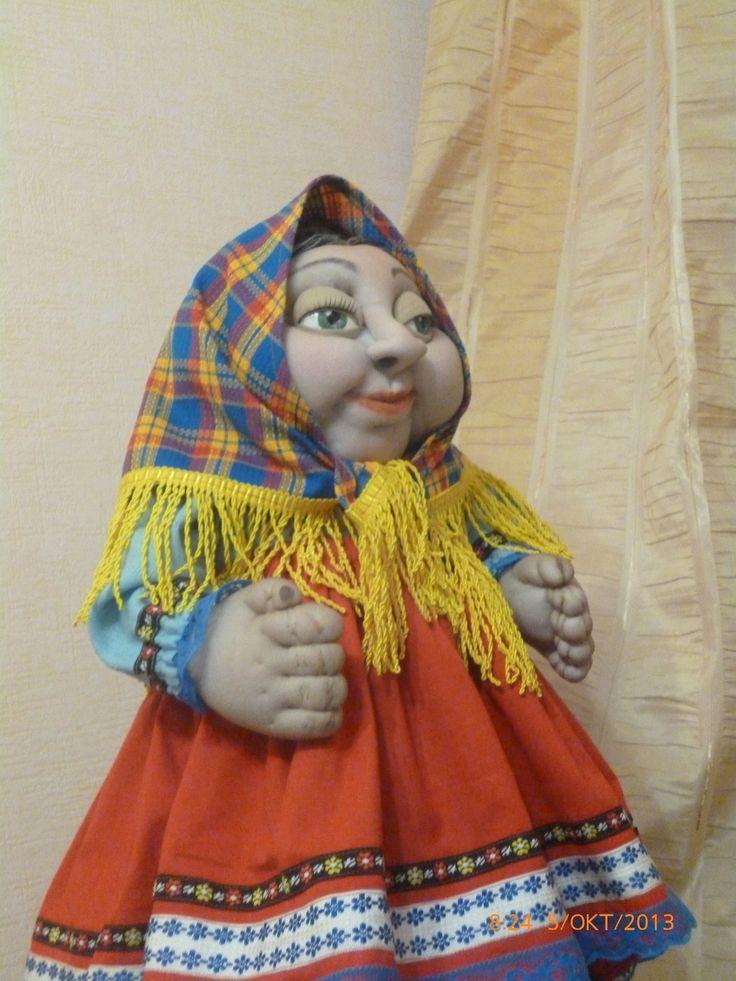 Кукла на чайник Марфа Ивановна