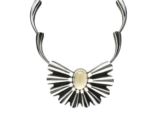 Jewelry Necklace, THERESIA HVORSLEV. Item 1012684. Contemporary – Saturday 22 March 2014.