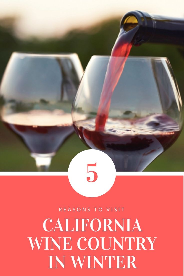 5 Reasons To Visit California Wine Country In Winter Wintertravel Travel Winecountry Californiawine Wine Country California California Wine Wine