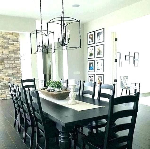 Simple Dining Table Centerpiece Ideas Megganhead Co Brown Dining Room Decor I In 2020 Modern Farmhouse Dining Room Farmhouse Style Dining Room Modern Farmhouse Dining