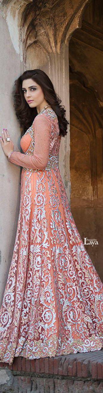 Beautiful Pakistani bridal lehnga