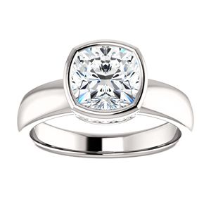 best 25 solitaire cushion cut ideas on