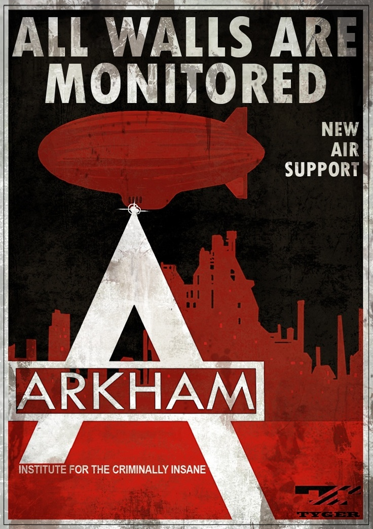 Arkham Asylum Warning Signs   Batman: Arkham City