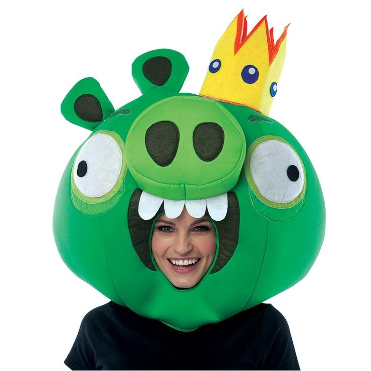 Disfraces Angry Birds, King Pig, Licenciados ©Angry Birds para adultos, niños y bebés http://www.colombiaregala.com/disfraces/disfraces-importados-hombres.html