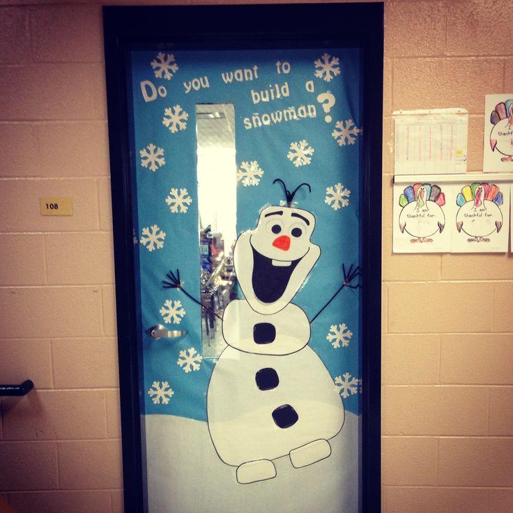 Olaf Classroom Door Olaf Pinterest Olaf Classroom