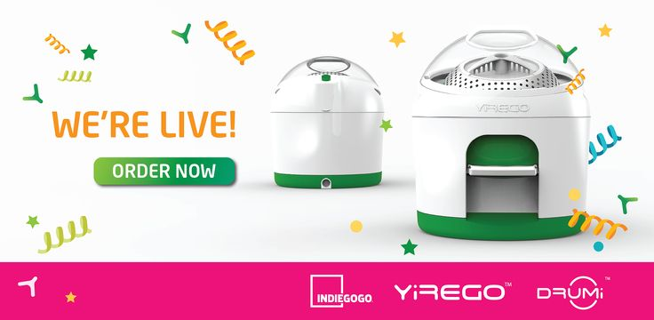 Yirego | Makers of the Drumi