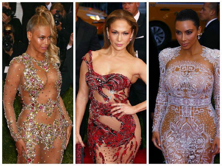 Nahota na červenom koberci: Krivky odhalili Beyoncé aj JLo! | Diva.sk