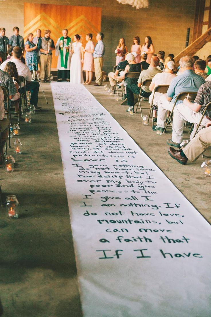 Handwritten aisle runner and chevron ceremony backdrop. We can do that for you!  #wedding #bridetobe #lbgt #weddingideas @laralilthings @weddingwire @theknot