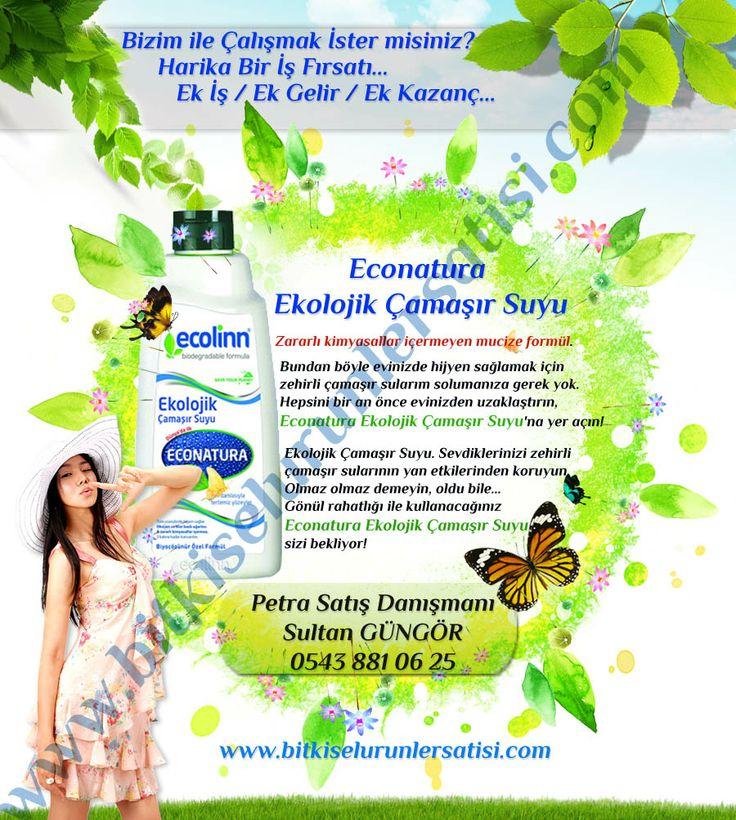 http://bitkiselurunlersatisi.com/bitkisel-camasir-suyu.html Econatura Ekolojik Çamaşır Suyu Çamaşır suyu kadar marifetli! Zararlı kimyasallar içermeyen mucize formül. Bundan böyle evinizde hijyen sağlamak için zehirli çamaşır sularım solumanıza gerek yok. Hepsini bir an önce evinizden uzaklaştırın, Econatura Ekolojik Çamaşır Suyu'na yer açın! Hem hijyenik ortamlar yaratın, hem de lekeleri çıkartın!Hayatınızı kolaylaştıracak devrim yaratacak bir ürün, Econatura Ekolojik Çamaşır Suyu.