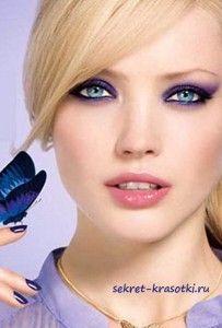 МАКИЯЖ ДЛЯ БЛОНДИНОК  ОБЩИЕ РЕКОМЕНДАЦИИ:  ♥ Не следует наносить сразу несколько ярких, кричащих оттенков. оттенки губной помады в сочетании с темными тенями сделают образ грубым и неестественным. ♥ Блондинкам лучше отказаться от ...