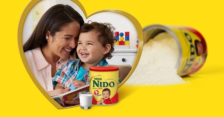 Look what I found from Nestlé NIDO! Welcome to the official Nestlé NIDO site #NIDO http://nestlenido.stage.genex.com
