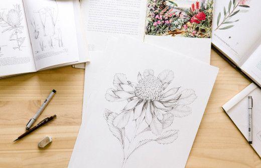 Sydney based designer and illustrator Edith Rewa