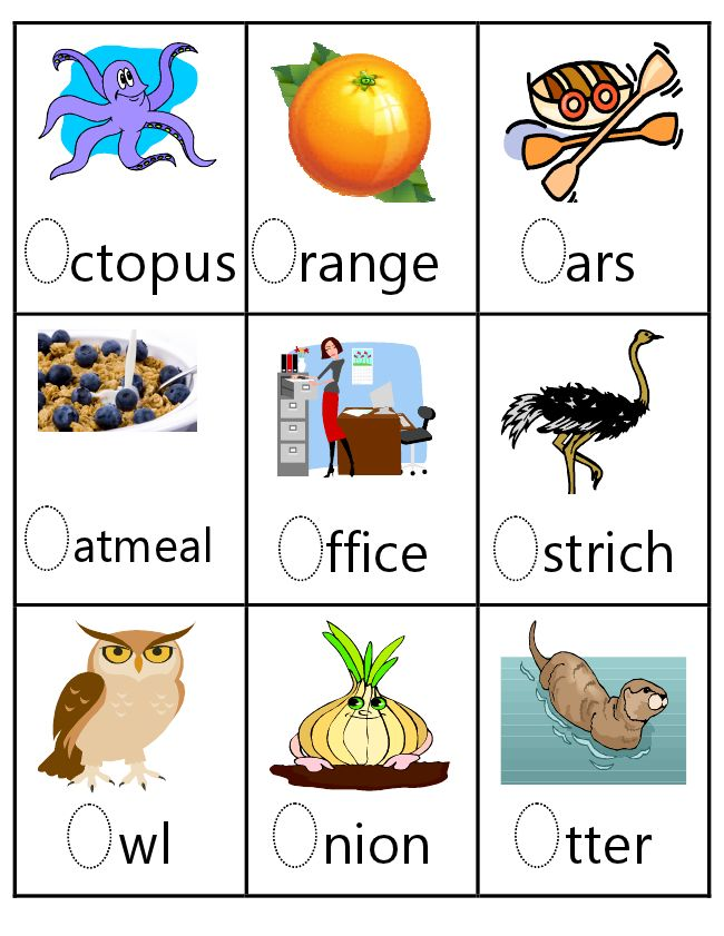 letter o vocab | Letter Oo | Pinterest | Children, God and ...