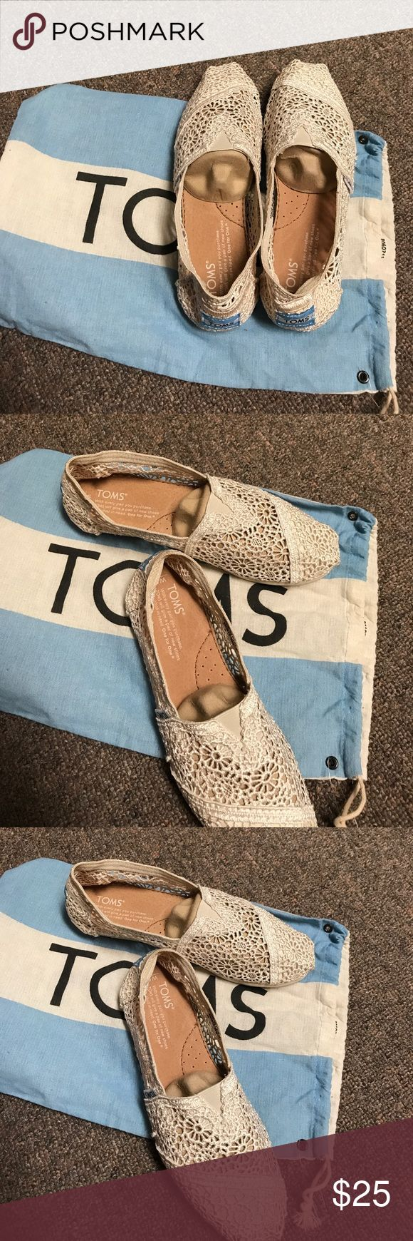 TOMS TOMS shoes 6W new comes in the toms bag TOMS Shoes Flats & Loafers