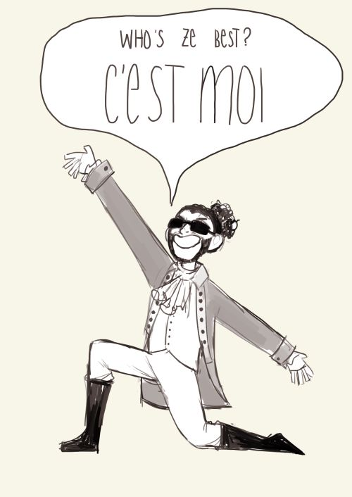 Everyone give it up for America's favorite fighting Frenchman! #Lafayette