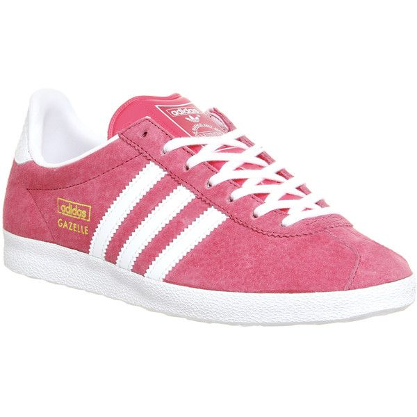 Adidas Gazelle Og W (1,875 MXN) ? liked on Polyvore featuring shoes,  sneakers