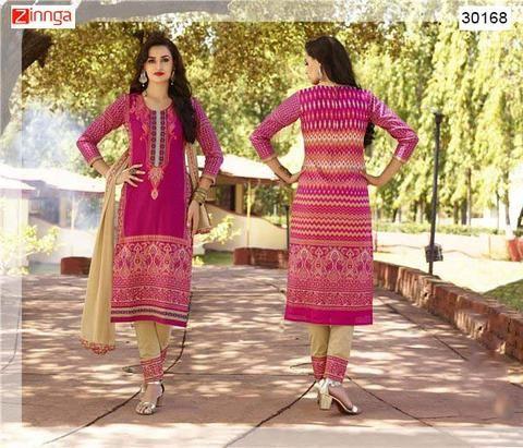 VEDANT FASHION-Women's Beautiful Semi-Stitched Salwar Kameez - 30168