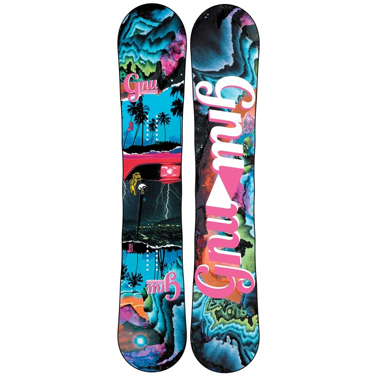 GNU Ladies Choice C2PBTX Snowboard Blem Women's 2013