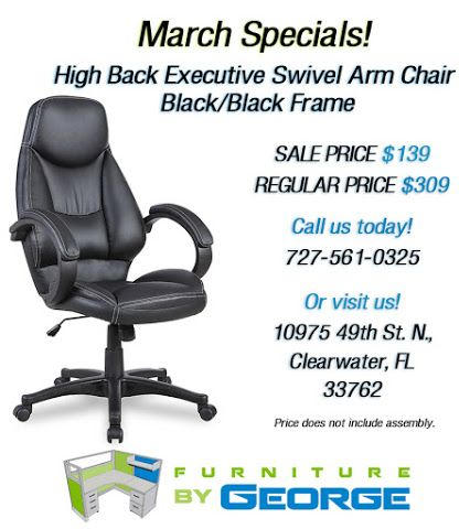 Florida Residents Are You Ready To Enjoy Our New March Specials Dive Into Selection Of Super Savings On Office Chairs During