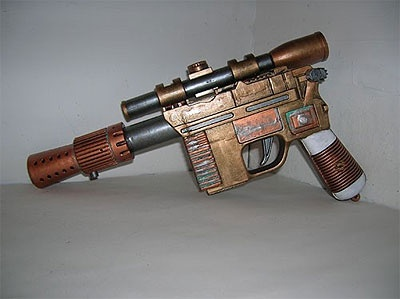 Steampunk Han-Solo blaster