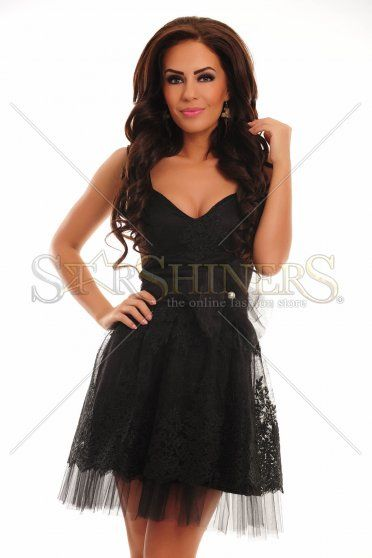 Rochie LaDonna Unique Party Black
