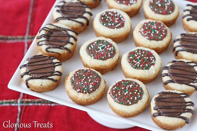 Peanut Butter Cup Cookies from Glorious Treats inkatrinaskitchen.com #BringtheCOOKIES