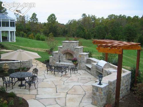 backyard ideas - Patio Backyard Ideas