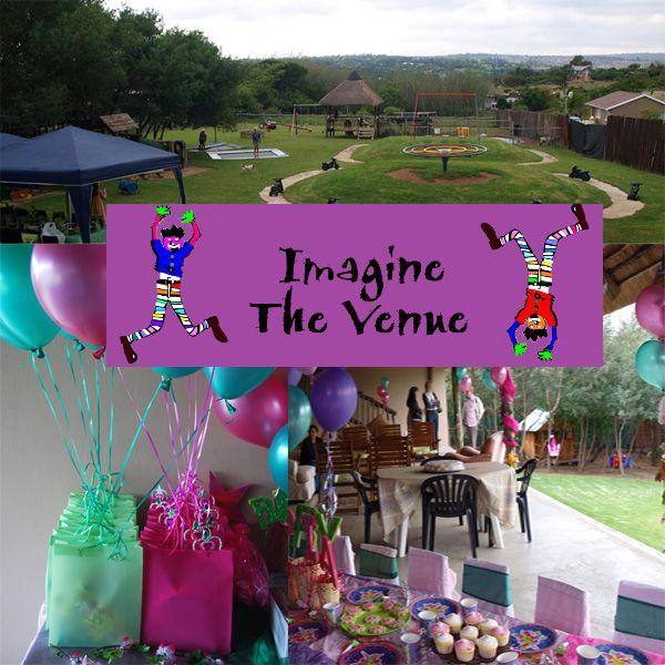 Imagine Party Venue is set on a spacious 1500m2 Garden in Chartwell west (Farmall) countryside with an incredible view.  A secret forest with a Wendyhouse and an adventure jungle gym awaits young and old to explore. Imagine also boasts a duck pond, as well as chickens and bunnies. Not to mention a Merry-go-round, sandpit, bike track, trampolines and swings. Jungle gym, bike and side car, soccer post and netball hoop. A toddler wooden jungle gym and ball pond. There sure is enough to keep the…