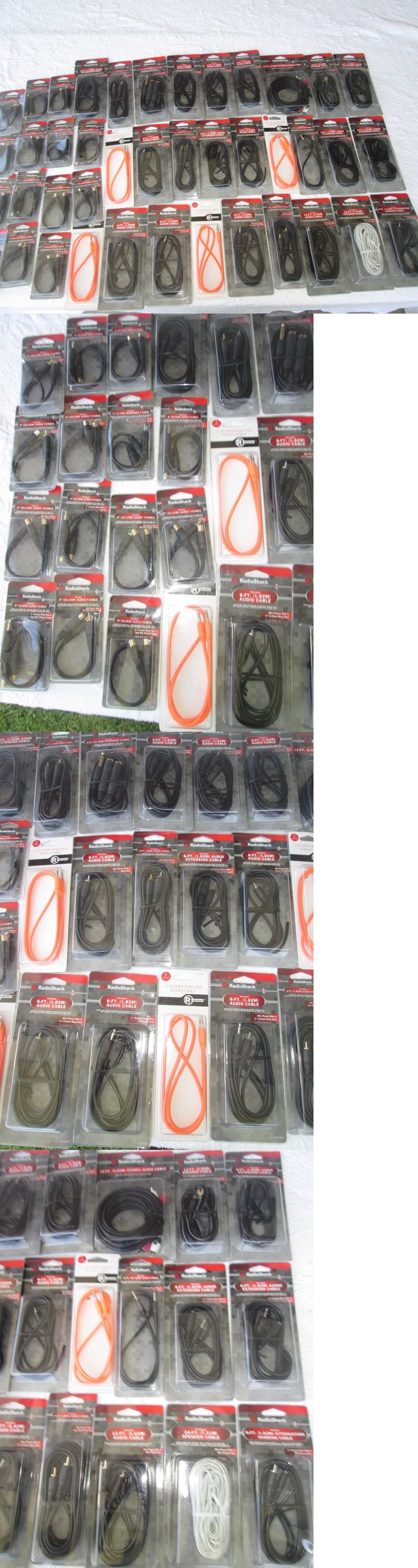 Other Consumer Electronic Lots: Wholesale Lot Of Radio Shack Merchandise (Audio Cables) For Retail New Jp 11 -> BUY IT NOW ONLY: $55.0 on eBay!