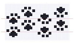 paw print charted - Google Search