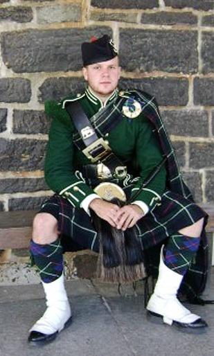 Highlander at the Citadel in Nova Scotia, Canada