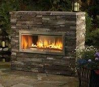 outdoor modern firewall - Bing Images