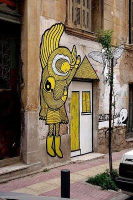 A Jurubeba Cultural: ● Uma visão de Arte ... Uma porta.   (Atenas, Grécia).