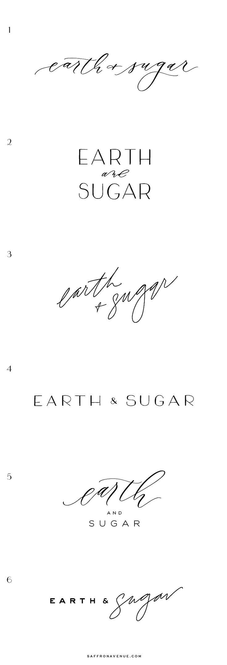 Modern Brand and Website Design for Earth & Sugar - Saffron Avenue : Saffron Avenue