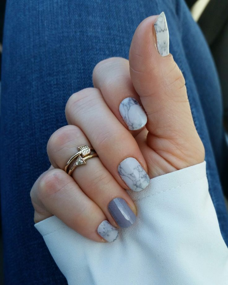 DIY Marble Look!! Sculpted and Dove Grey Jamberry wraps!  No chemicals, gluten-free adhesive, no chipping! Mommy life-saver!   newsong.jamberrynails.net