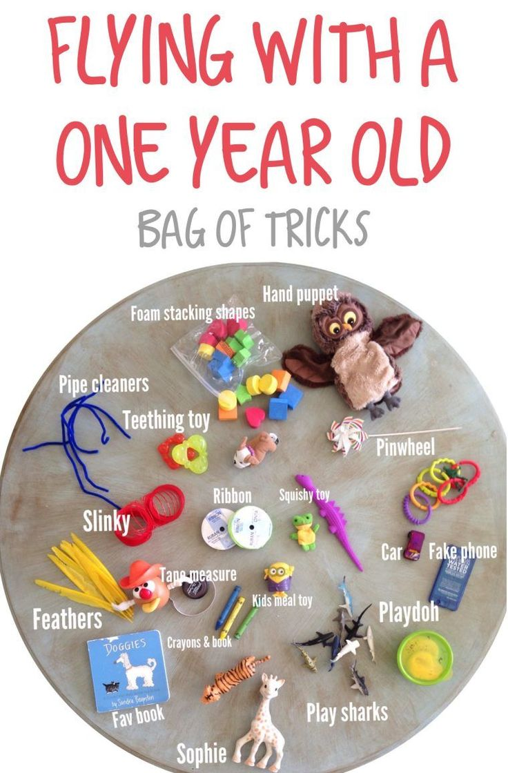 Baby Travel Toys : Aug tips for flying with a one year old kid activities