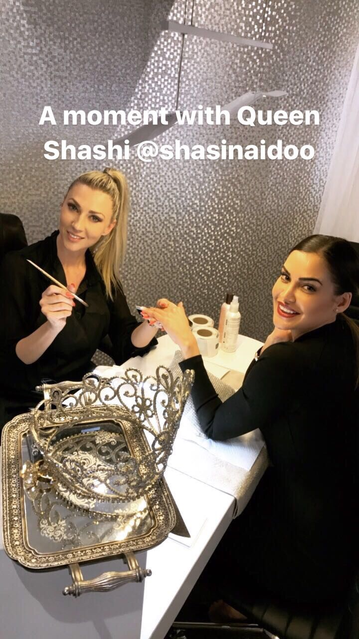 Celebrity Nail Artist Mel Viljoen with Shashi Naidoo!