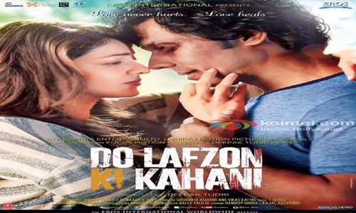 Do Lafzon Ki Kahani 2016 is an Hindi film. Directed by Deepak Tijori, the film facial appearance Randeep Hooda and Kajal Aggarwal in the sphere of be in the lead roles.