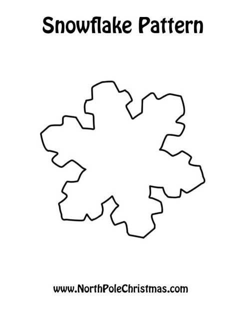 56 best snowflake patterns images on Pinterest Christmas crafts - snowflake template