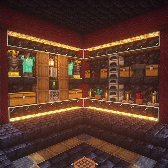 Minecraft Builds в Instagram Storage Room Rate It 1 10 By Executivetree Minecraft Storage Minecraft Designs Minecraft Houses