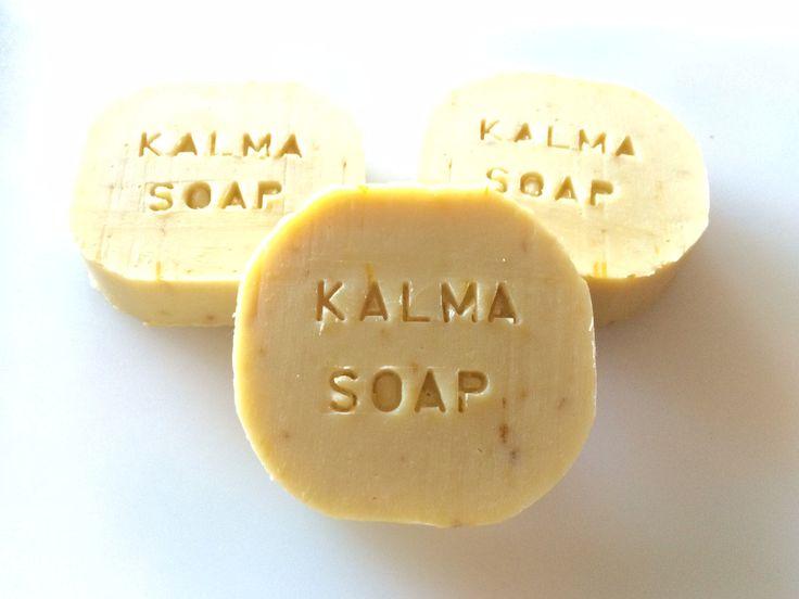 kalma Soap - Sapone artigianale alla Calendula, latte di avena e camomilla, 100% olio di oliva italiano, sapone delicato, baby mild soap di EcoNaturaBio su Etsy