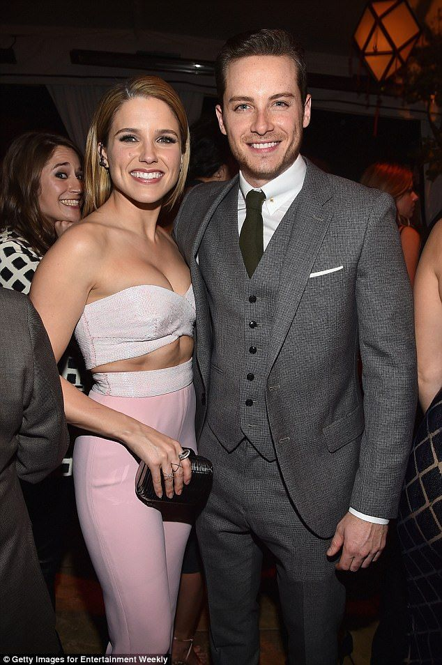 Former lovers: The actress dated her co-star Jesse Lee Soffer for almost a year before cal...