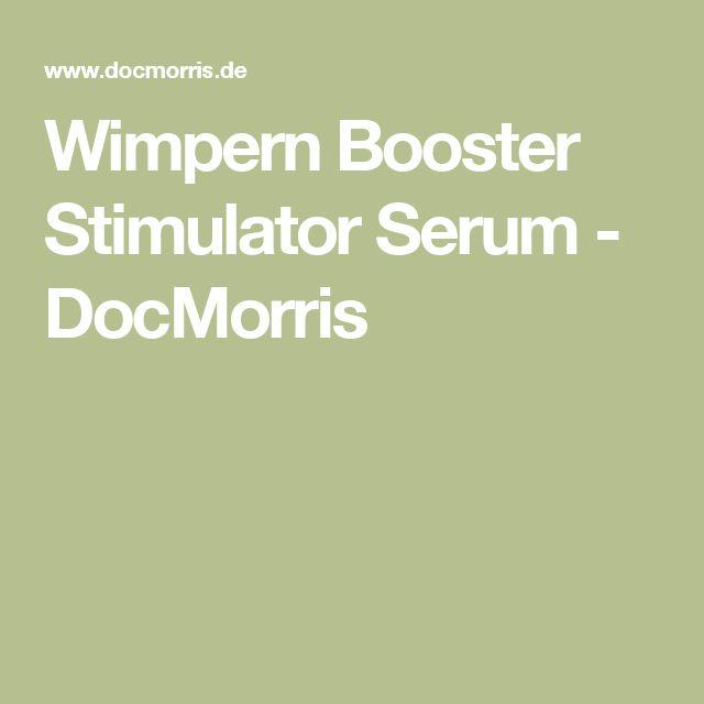 Wimpern Booster Stimulator Serum - DocMorris
